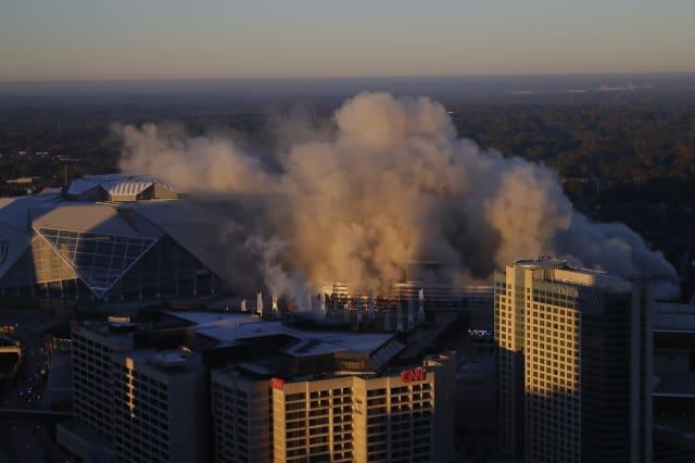 Georgia Dome Demolition