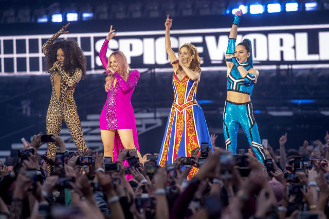 The Spice Girls Perform At Croke Park - Tour Opener