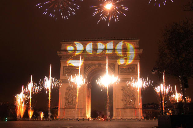パリの凱旋門