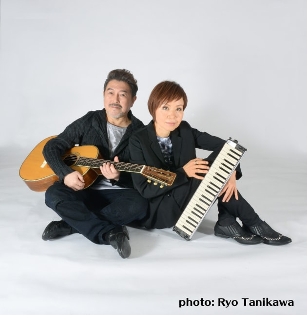 「Castle In The Air」の渡辺香津美さん(左)と谷川公子さん