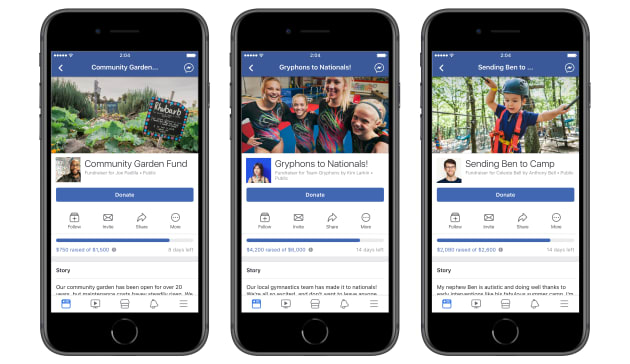 how to raise money on facebook with paypal