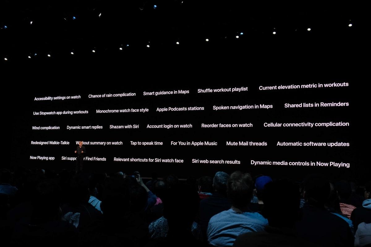 watchOS 6の主要新機能一覧