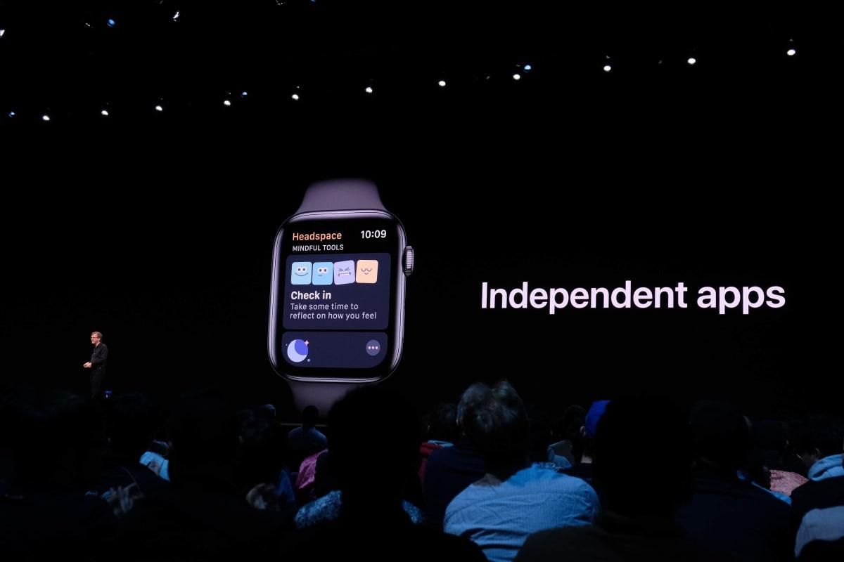 iPhoneアプリからWatchアプリが独立した