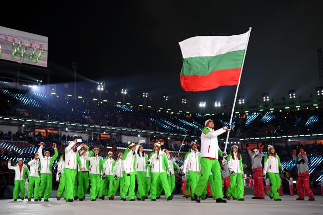 Bulgaria Flag Bearer 2016