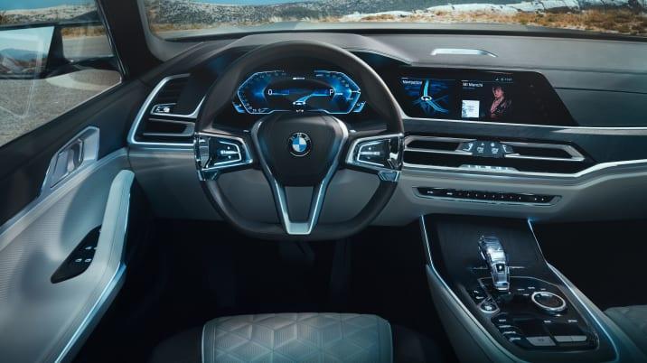 BMW Concept X7 iPerformance interior