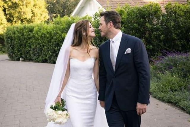 Chris Pratt et Katherine Schwarzenegger se sont mariés