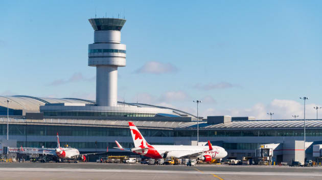 how to go to pearson airport