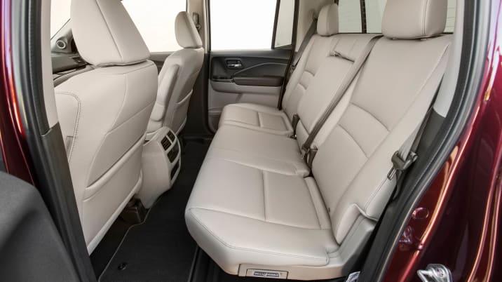 2018 Honda Ridgeline rear seat