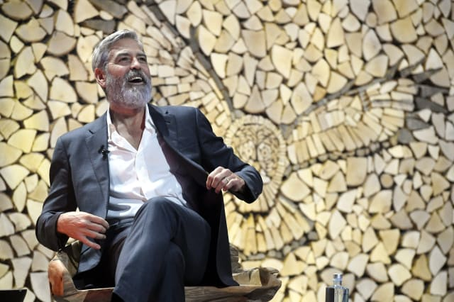 FINLAND-US-BUSINESS-CINEMA-CLOONEY