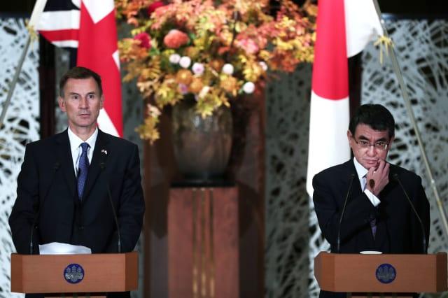 JAPAN-BRITAIN-DIPLOMACY