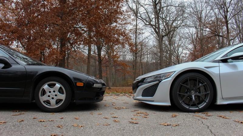 Acura NSX photos