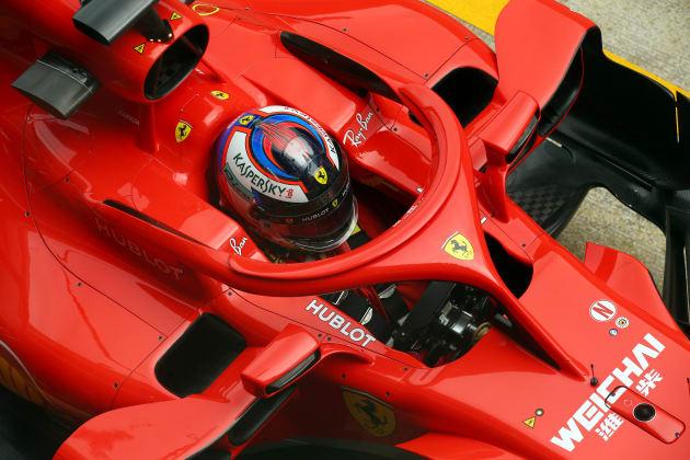 2018年シーズンのフェラーリのF1マシン