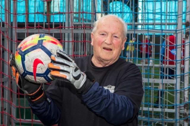 Oldest goalkeeper