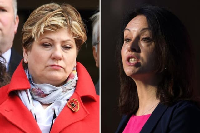 Emily Thornberry confirms legal action against Caroline Flint over 'stupid' row