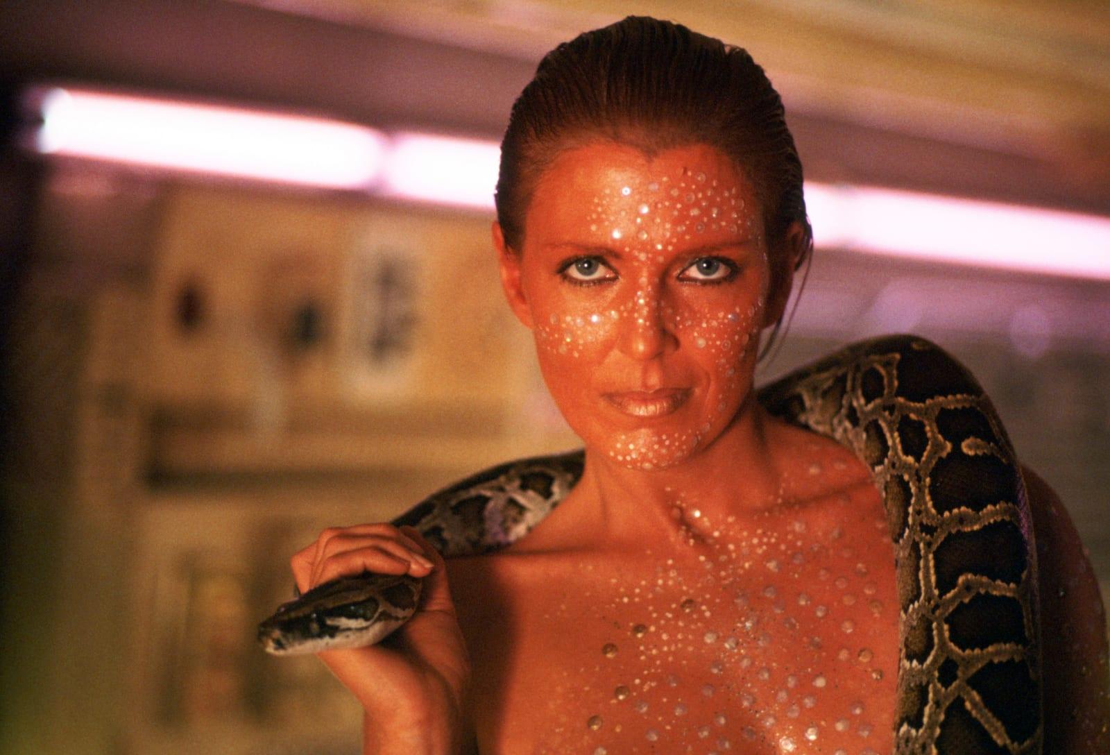 On the Set of 'Blade Runner'