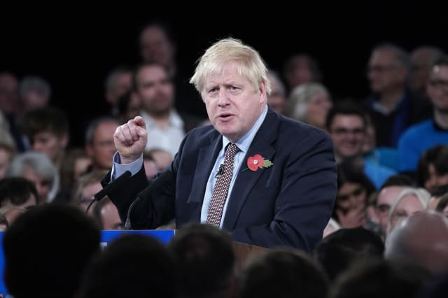 Boris Johnson Launches The Conservative Party General Election Campaign