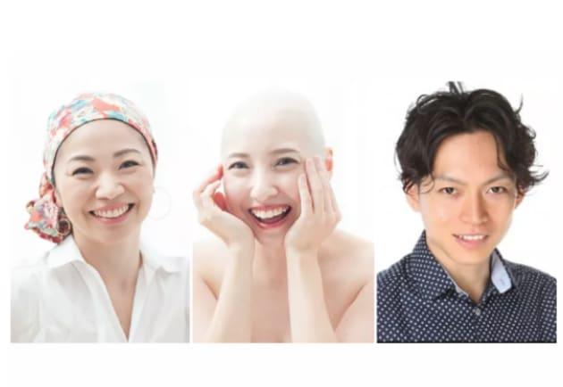 左から 角田真住さん、土屋光子さん、廣田純也さん