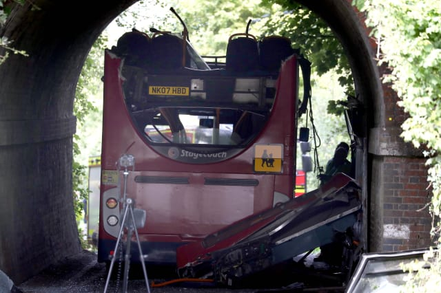Winchester school bus crash