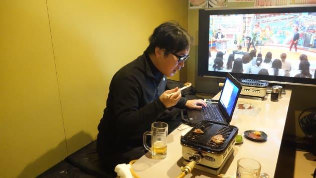 北海道での一食目。ジンギスカンでネット検索。