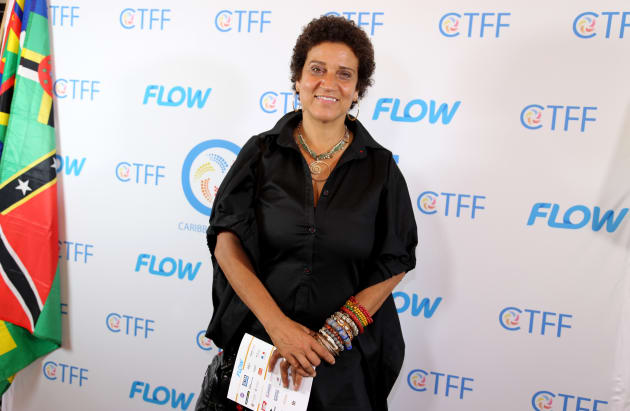 Frances-Anne Solomon attends the CaribbeanTales International Film Festival media launch at Royal Cinema...