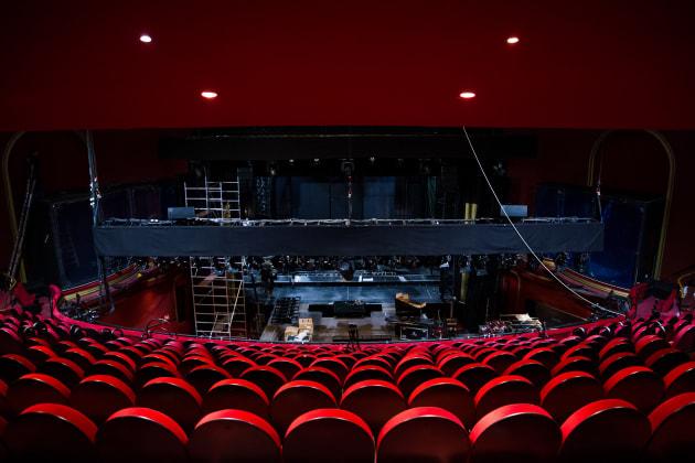 39 el guardaespaldas 39 tras la escena del musical basado en la pel cula de whitney houston y kevin - Teatro coliseum madrid interior ...