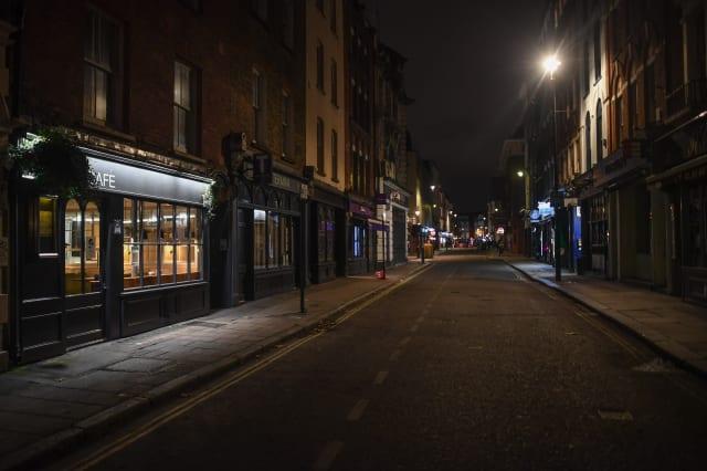 London's Deserted Nightspots Due To Coronavirus Lockdown