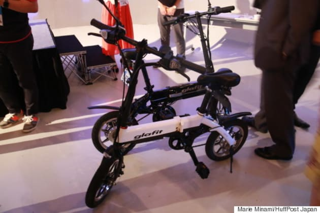 glafitプロジェクトの「ハイブリッドバイク」