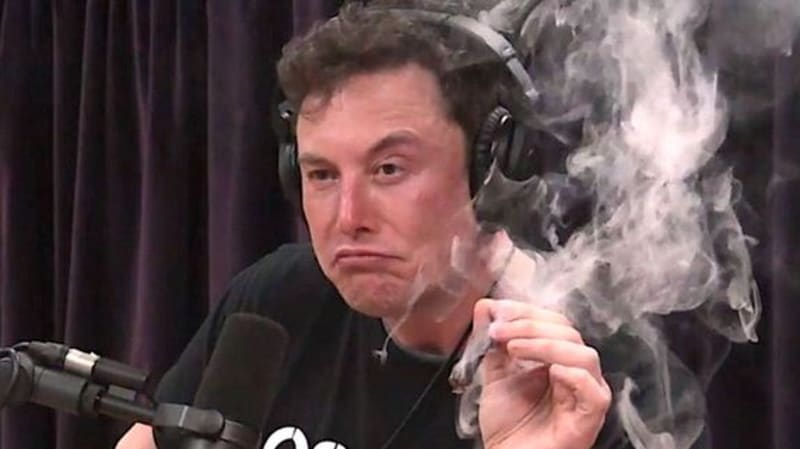 OK, everybody: Stop pot-shaming Elon Musk