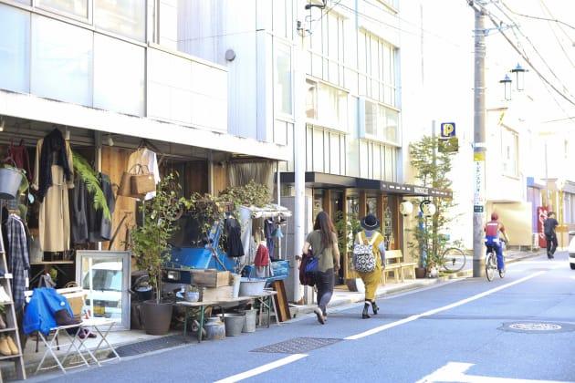 富ヶ谷の商店街