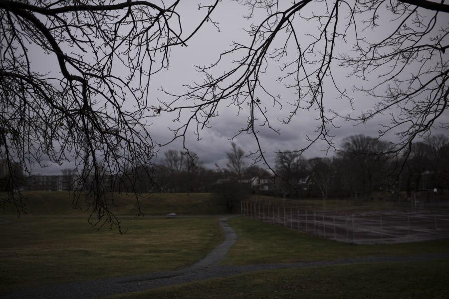 View of Halifax's Gorsebrook Park on Dec. 11, 2017.