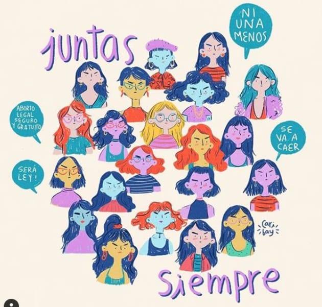 8 ilustraciones para que llegues con todo a la marcha del Día de la Mujer