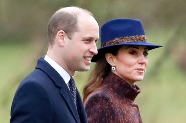 Members of the Royal Family Attend Sunday Church Service At Sandringham