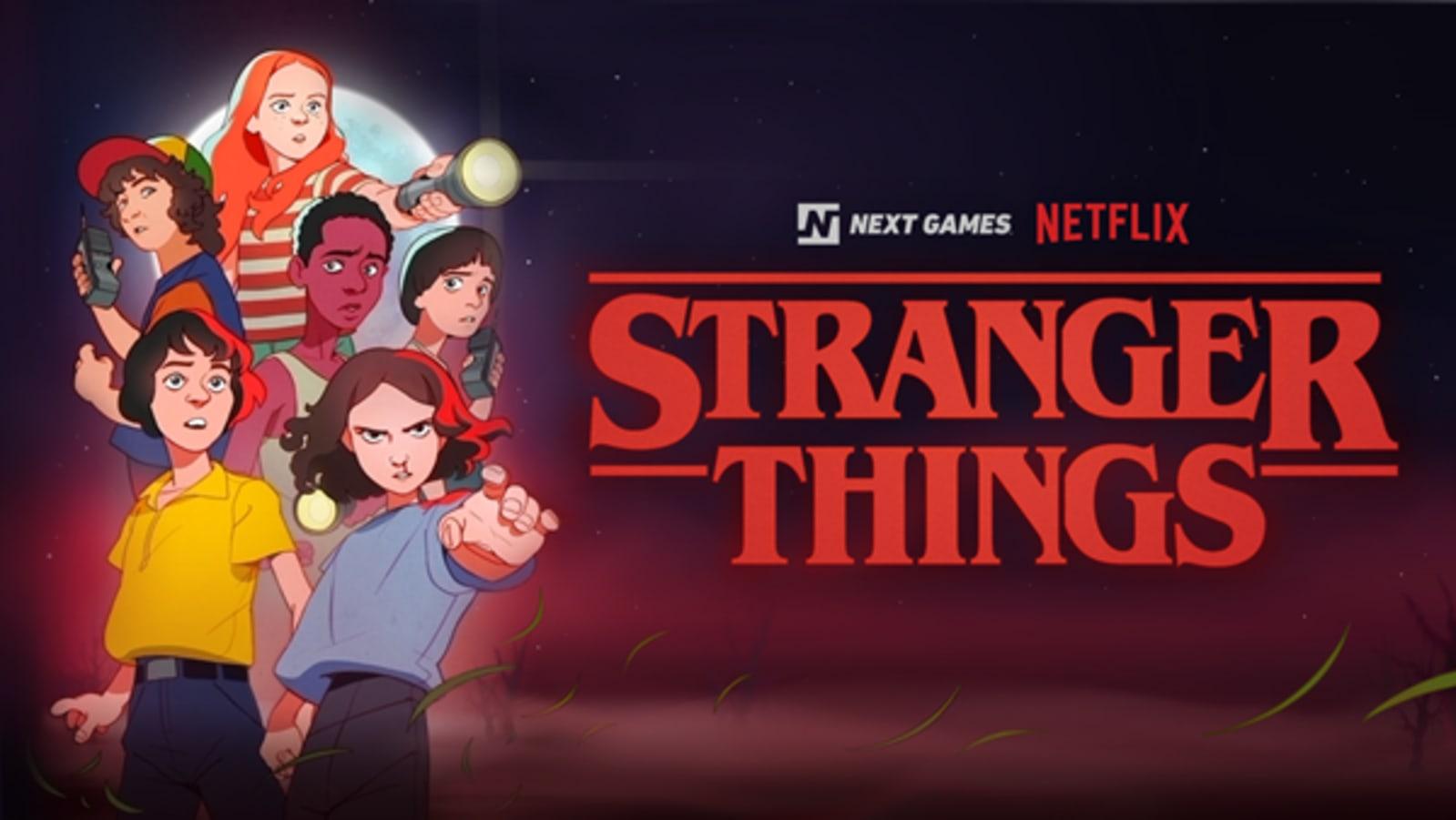 'Stranger Things' mobile game