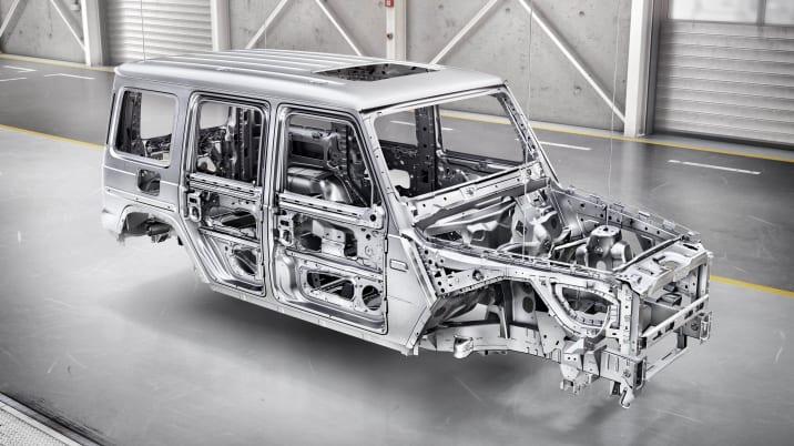 Mercedes-Benz G-Class body