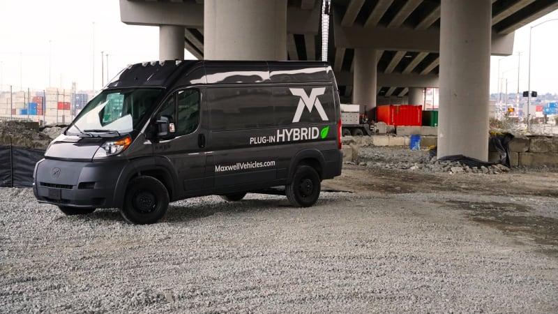 Maxwell RHEV Hybrid Van Prototype First Drive Review | Specs