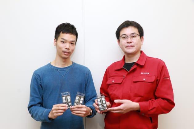 ※Makuakeの西日本事業部 事業部長・菊地(左)、塚田さん(右)