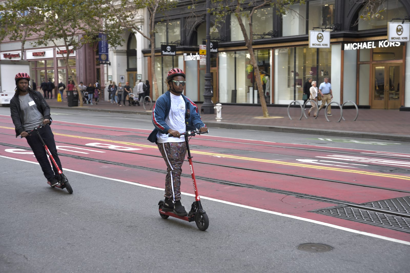 Bird's purchase of Scoot lets it back into San Francisco