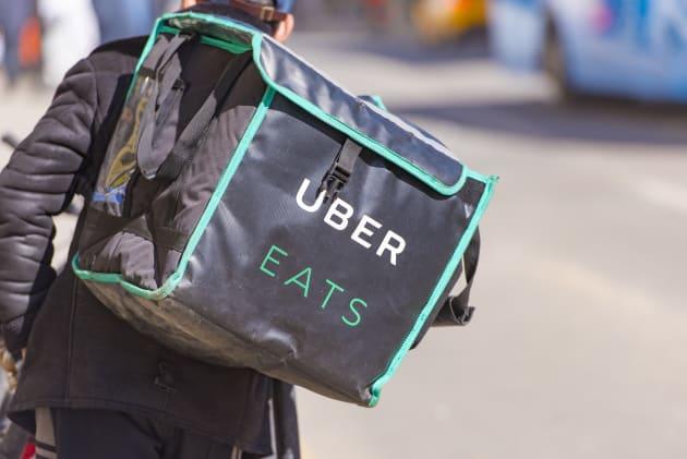 出前の進化版「Uber Eats」のイメージ写真