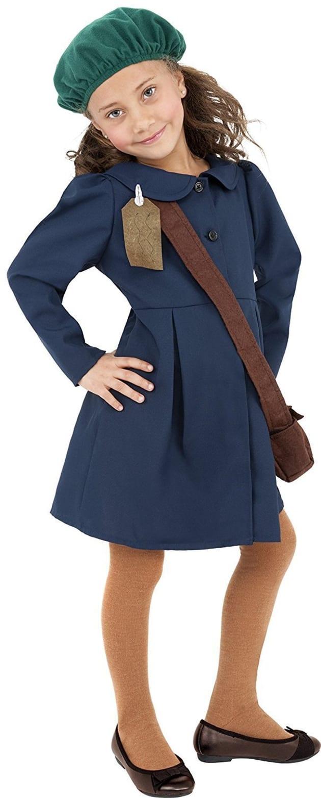 Amazon.comで販売されている「第二次大戦中の避難民の少女の衣装」