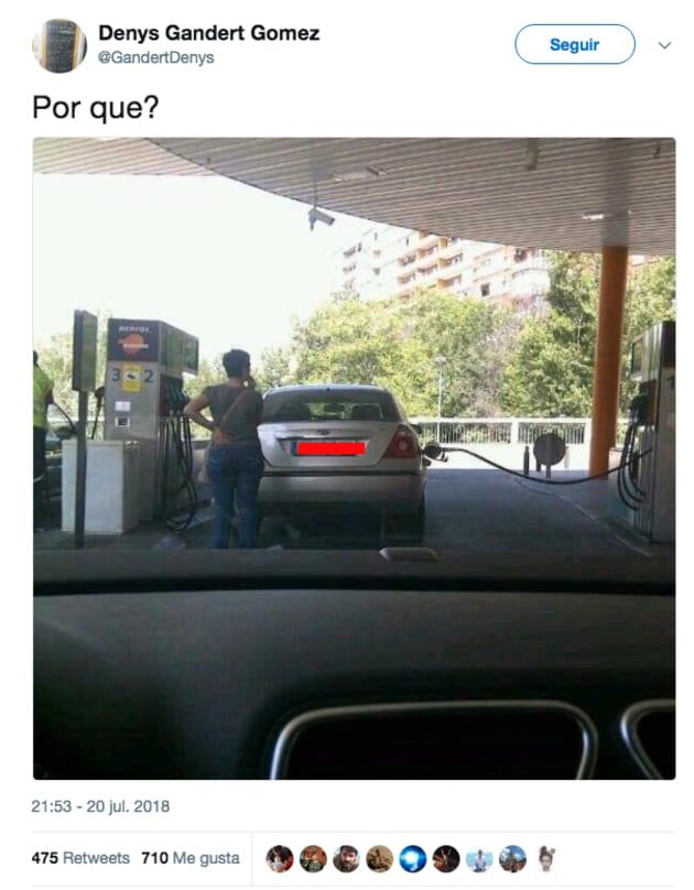 Gasolinera Zaragoza