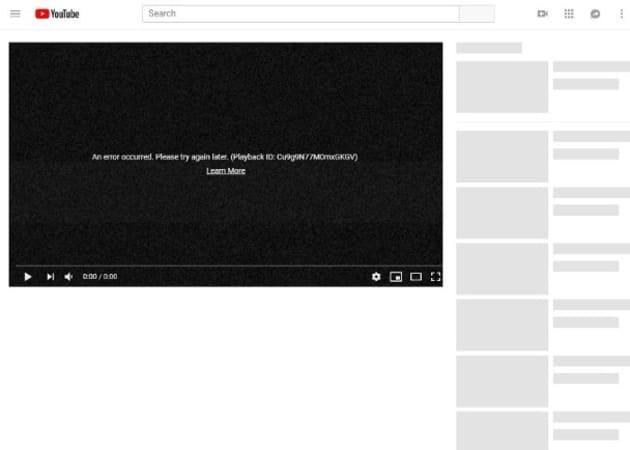 YouTube全球死機 香港等地均受影響