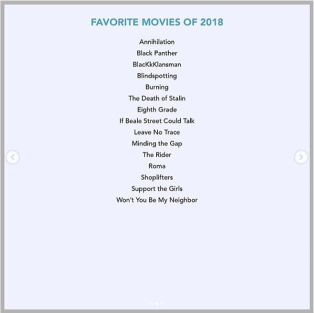 favorite movies of 2018