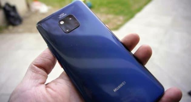 Reconocen al Huawei Mate 20 Pro como el mejor