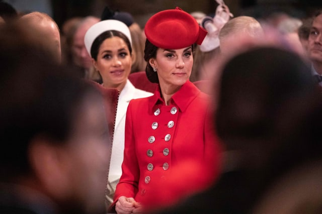 Why Meghan Markle was sitting in the second row at the Commonwealth Day service