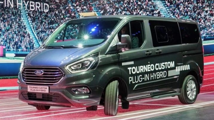 Ford Transit vans for Europe get full-electric and PHEV