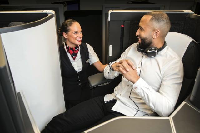 British Airways reveals new business class design