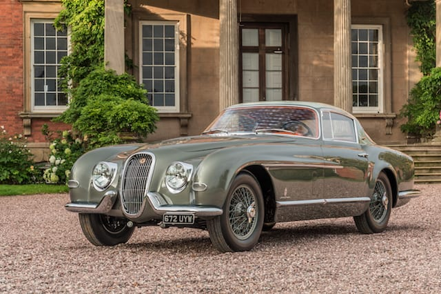 One Off Classic Jaguar Visits London For The First Time Aol