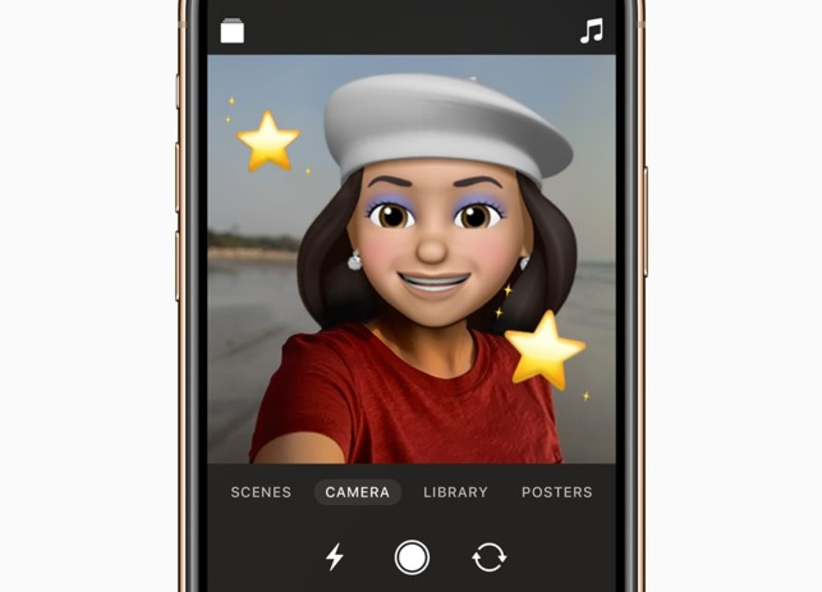 Apple brings Memoji and Animoji to its Clips video creation app