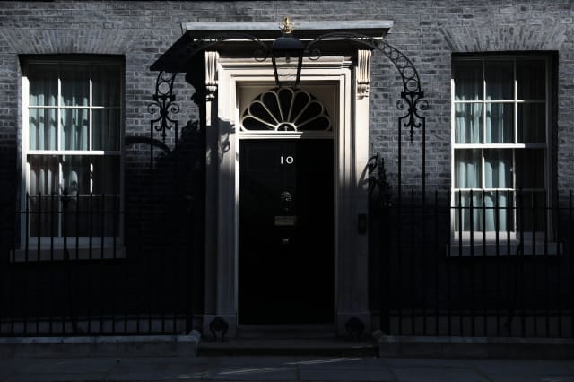 Prime Minister Theresa May Leaves For PMQ's