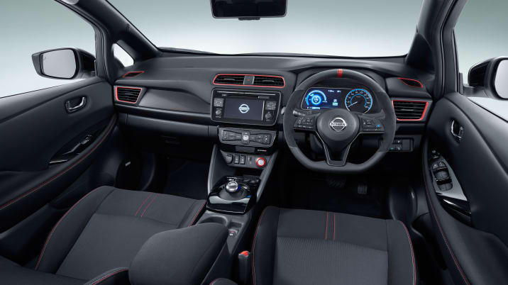 Nissan Leaf Nismo Concept interior